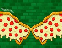 Papa John's Graffiti Pizza Wings