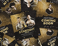 STARFIGHT BARCELONA - Boxing Event | Art Direction