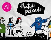 CDF - Partido Peleado campaign