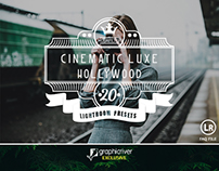 20 Cinematic Luxe Hollywood Lightroom Presets