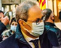 MH. President Torra - Girona - Catalonia