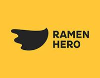 Ramen Hero / Brand Identity and Web Design