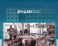 UI/UX Design and Development for EMPLAN Limited