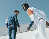 Le coq sportif, stylism by Vanessa Naim