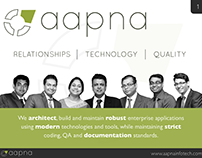 aapna re-branding: Presentation Design