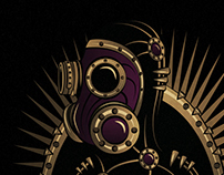 Don't Be Afraid Of - Steampunk Vector Project