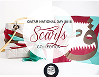 Qatar National Day 2015 Scarf collection
