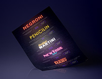 NEON COCKTAIL MENU