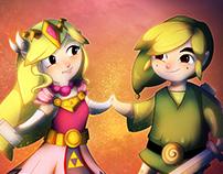 Zelda & Link - Symphony of the Goddesses