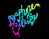 Daphne & Celeste Lettering & Illustrations