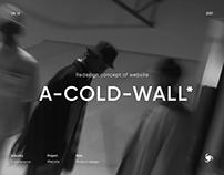 ACW - eCommerce Website Redesign Concept