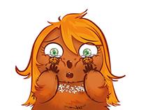 Aurore, la marmotte aux joues muffins