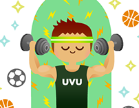 UVU Magazine Illustrations