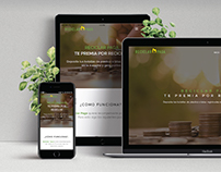 Reciclar Paga - Webdesign