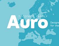Auro Typeface