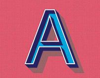 Comic Font - Adobe Illustrator Project 2
