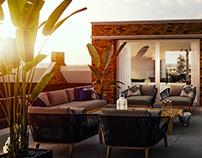 Interior design, Penthouse in Berlicum
