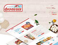 Familia- Website Design