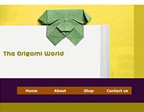 """Web site """" origami """" ( 2018 )"""
