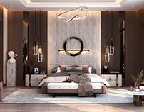 Master bedroom design in ksa( private villa)
