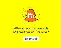 Snapchat Discover Challenge | Marmiton