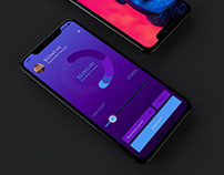 Expense app UI and animation concept