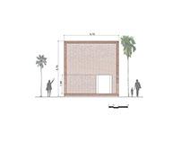 Modellazione 2D e 3D: Termitary house, Tropical Space
