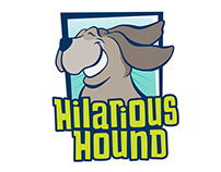 Hilarious Hound Branding