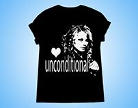 Black & White ( T-shirt Design)