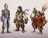 Illustrations and Characterdesigns