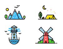 一些icon  有趣的体验