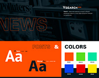Website for news portal Ysearch