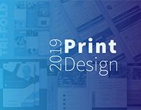 PRINT DESIGN: brochures, flyers, advertisements
