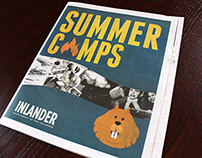 The Inlander Cover - Summer Camps
