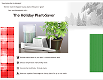Adruino Project - The Holiday Plant-Saver