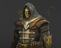 Character design(Arinder)