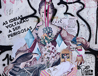 Collage on the Street / Colagem na rua