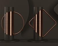 FORM vase dark edition