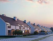 Ostoja Spokoju - housing estate visualizations.