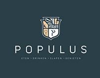 Populus. Hotel identity