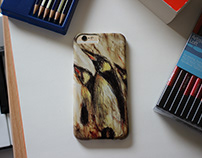 Penguin iPhone cover