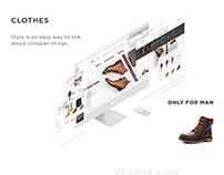 Оnline store for men