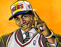 IVERSON FIRST PICK