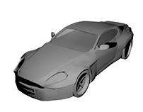 Aston Martin Model- Introduction to Entertainment Arts