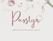 Passtyn - Handwritten Font Duo (FREE DOWNLOAD)