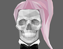 Born This Way Skull