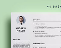 04 Pages WORD Resume