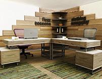 Office visualization, 4 seasons clothing