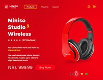Miniso Studio3 Wireless UI