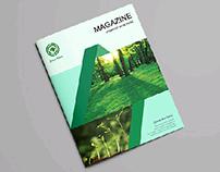 Simple Magazine cover design